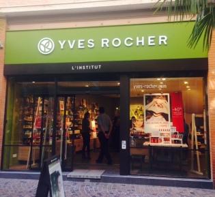 Yves Rocher en centre-ville