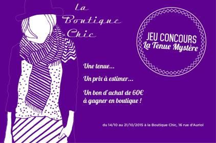La boutique chic rue d'Auriol à Montauban centre-ville et son jeu de la tenue mystère